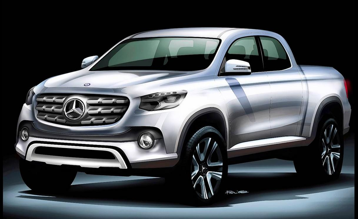 Report: Mercedes' new pickup truck will be built with Nissan