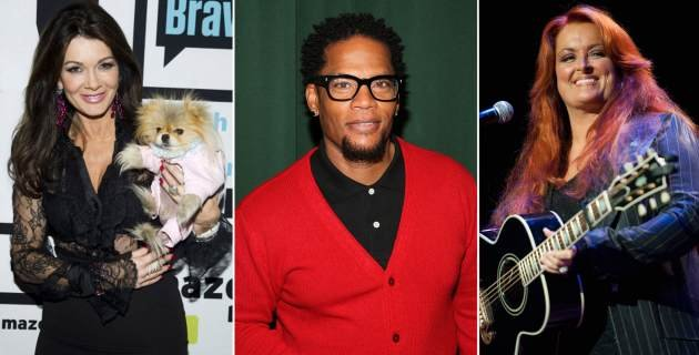 Lisa Vanderpump, D.L Hughley and Wynonna Judd, contestants on &#39;Dancing with the Stars&#39; Season 16  -- Getty Images