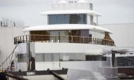 Steve Jobs' Super Yacht Takes To The Water
