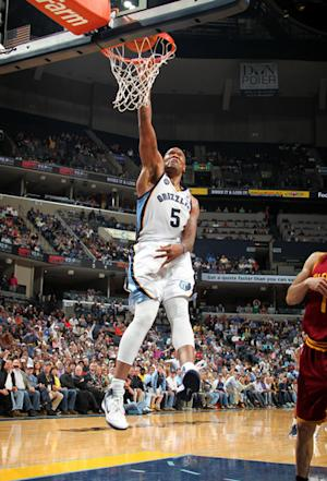 Speights, Gasol lead Grizzlies past Cavaliers