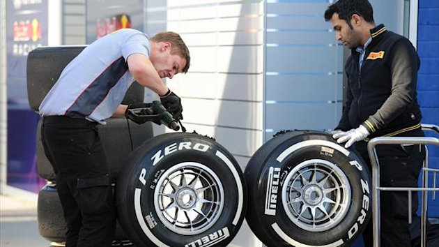 2013 Jerez Tests Pirelli
