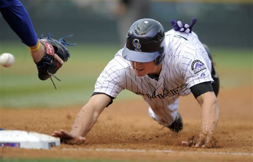Pacheco homers as Rockies sweep Cubs