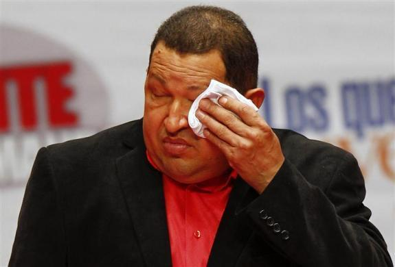 Hugo Chavez's cancer battle