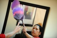 Singapore said Monday foreign maids must be supervised when cleaning windows following a rise in the number of fatal work-related falls from high-rise flats