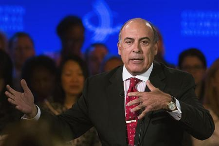 Muhtar Kent, CEO of the Coca-Cola Company, speaks at the Clinton Global Initiative in New York
