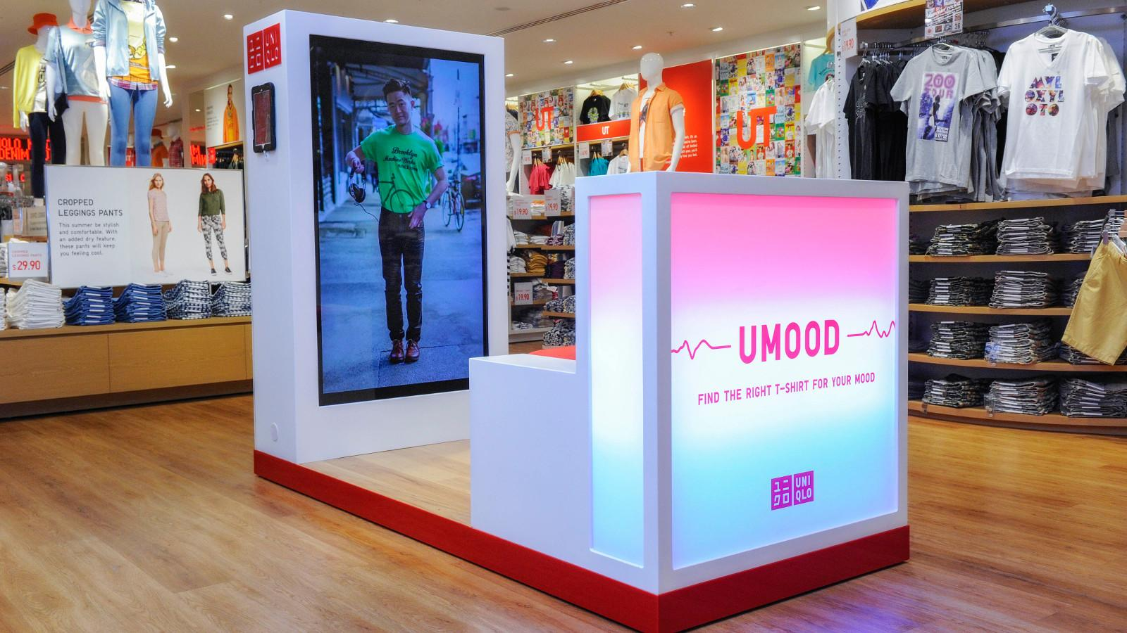 Uniqlo Launches Mindreading Technology That Will Pick a T-shirt for You Based on Your Mood