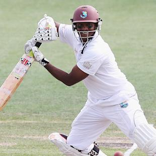 Record ton helps Windies gain edge over Kiwis