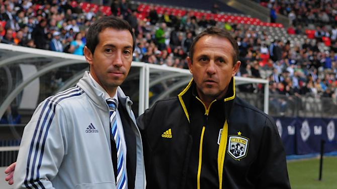 MLS: Columbus Crew at Vancouver Whitecaps