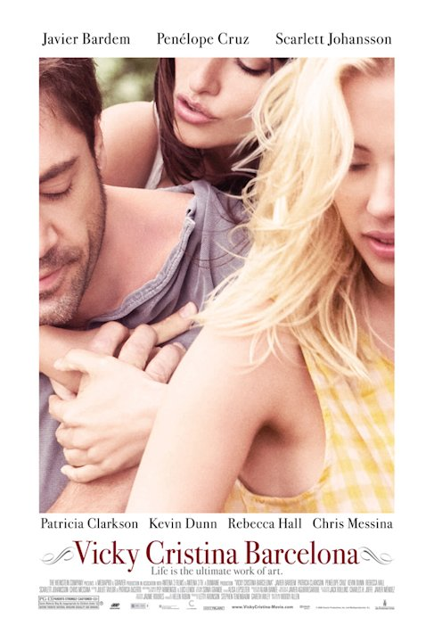 Vicky Cristina Barcelona Poster Production Stills The Weinstein Company 2008