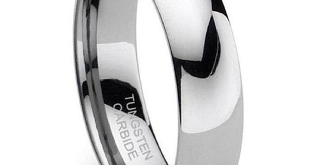 Tungsten Wedding Rings - Under $50 - Free Shipping