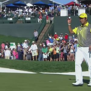 Hideki Matsuyama holes clutch birdie putt for Shot of the Day