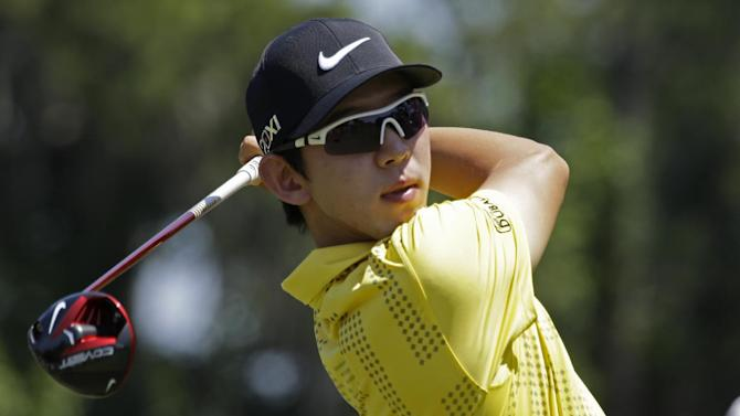 Seung-Yul Noh leads Web.com Tour finals event