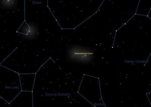 Moon May Outshine Quadrantid Meteor Shower Tonight