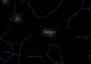 Moon May Outshine Quadrantid Meteor Shower Tonight