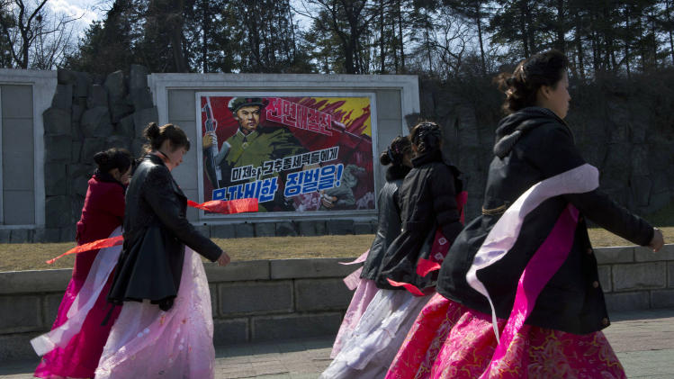 No panic in NKorea despite talk of missile test