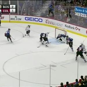 Semyon Varlamov Save on Milan Lucic (13:01/3rd)