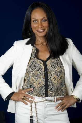 This July 18, 2012 photo shows model Beverly Johnson in New York. Johnson appears in a new documentary called &quot;About Face&quot; premiering on HBO on July 30. The film looks at topics like each model&#39;s career, aging and our culture&#39;s obsession with youth. (Photo by Charles Sykes/Invision/AP)