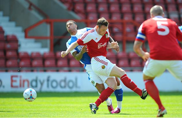 Soccer - Pre-Season Friendly - Wrexham v Blackburn Rovers - Racecourse Ground