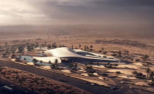 Zaha!: Renderings Show Zaha Exporting Swoops to Sharjah and Brazil