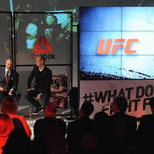Dana White defends UFC's Reebok deal