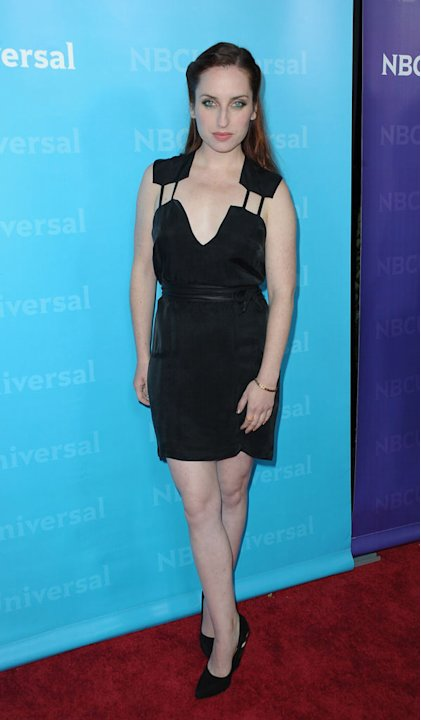 "Zoe Lister-Jones (""Whitney"") attends the 2012 NBC Universal Winter TCA All-Star Party at The Athenaeum on January 6, 2012 in Pasadena, California."