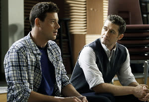 Cory Monteith and Matthew Morrison | Photo Credits: Jordin Althaus/FOX