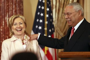 Republican Powell defends Clinton on Benghazi, rips GOP