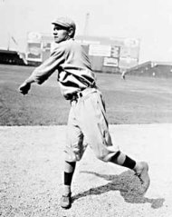 Boston Red Sox pitcher George Herman 'Babe' Ruth, Jr., circa 1914.