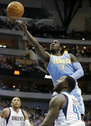Nuggets' Hickson out for season with knee injury
