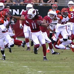 Arizona Cardinals wide receiver Larry Fitzgerald shines against Bengals
