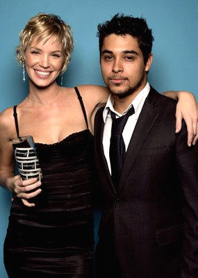 Ashley Scott and Wilmer Valderrama