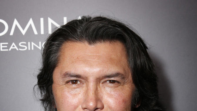 "Lou Diamond Phillips attends Pantelion's ""Filly Brown"" Los Angeles Premiere Hosted by the Rivera Family at the Regal LA Live Stadium on April 17, 2013 in Los Angeles. (Photo by Todd Williamson/Invision for Pantelion Films/AP Images)"