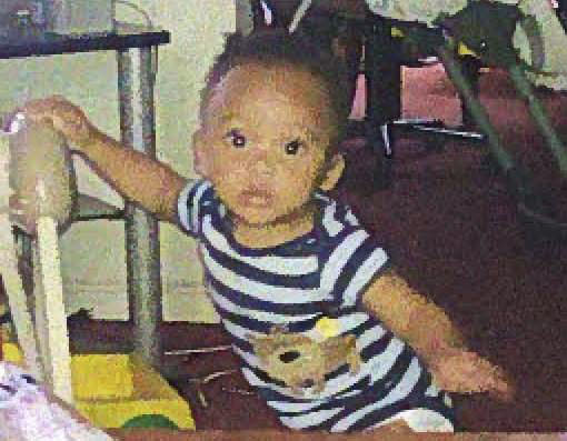 This undated photo provided by the Baltimore City Police Department shows Ki'Yauhn Birch. Police are looking the 7-month-old boy and his 16-year-old babysitter, who have not been seen for more than a day. (AP Photo/Baltimore City Police)