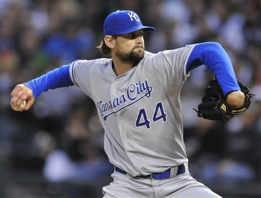 Hochevar works 7 innings as Royals top ChiSox 5-0