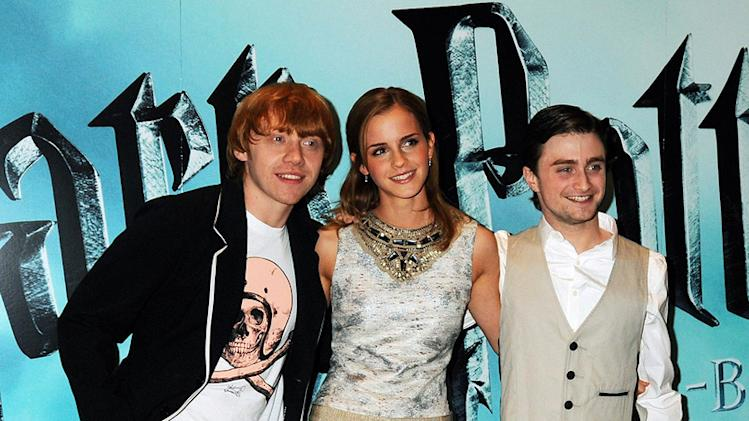 Harry Potter and the Half Blood Prince UK Photocall 2009 Rupert Grint Emma Watson Daniel Radcliffe
