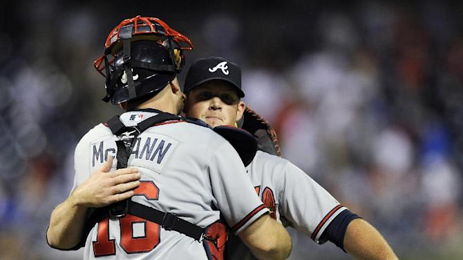 Braves beat Phillies 4-1 for 10th straight win