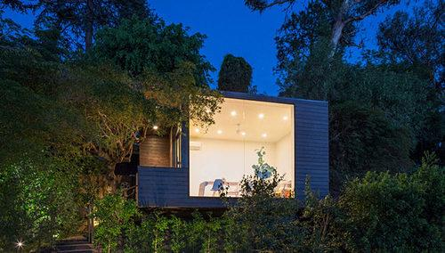 Curbed National: Mod Writer's Studio, Just 200 Square Feet, Graces LA Hilltop