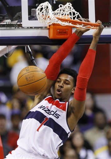 Wizards come from 21 down, top Lakers 106-101