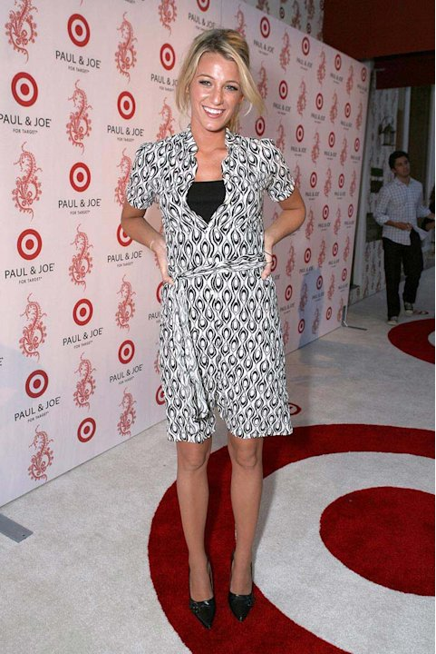 Blake Lively at Sophie Albou's Temporary Paul and Joe Collection for Target - 07/27/2006
