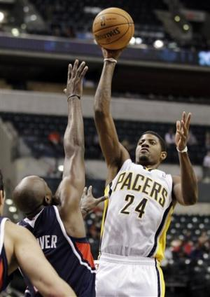 George lifts Pacers to 102-98 win over Hawks