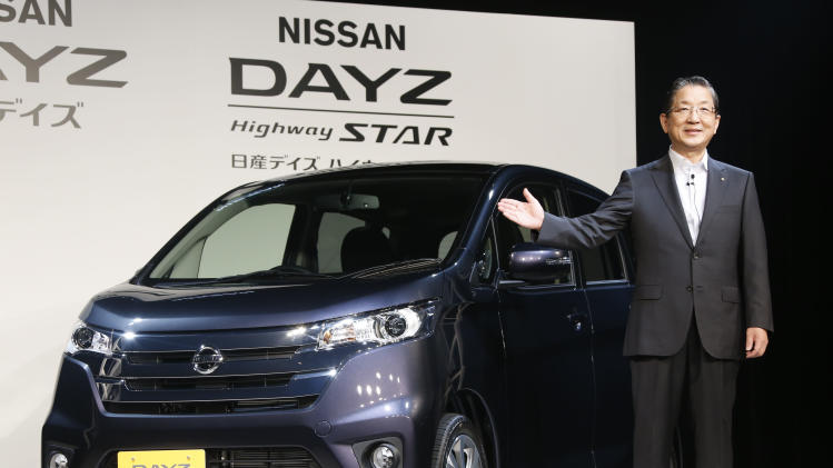 Nissan hopes to grab share of Japan minicar market