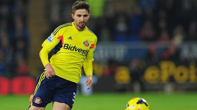 Sunderland striker Fabio Borini during the 2-2 draw at Cardiff (Getty)
