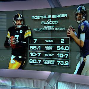 Mind-blowing stats: Roethlisberger vs. Flacco