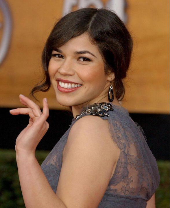 America Ferrera at the  14th Annual Screen Actors Guild Awards. - January 27, 2008