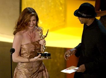 Debra Messing, Damon Wayans
