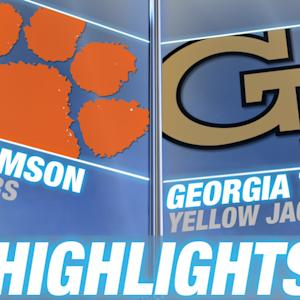 Clemson vs Georgia Tech - April 26 | 2015 ACC Baseball Highlights
