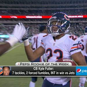Pepsi Rookie of the Week: Kyle Fuller