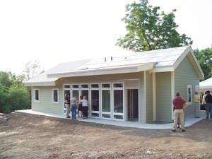 ACH Foam Technologies' SIPs Deliver Green Home for Homeless in Two Weeks