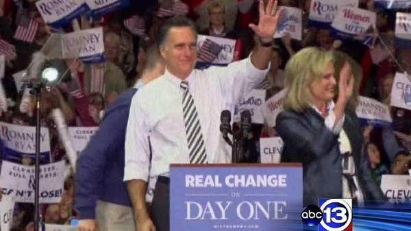 ABC13 with Romney as Election Day nears
