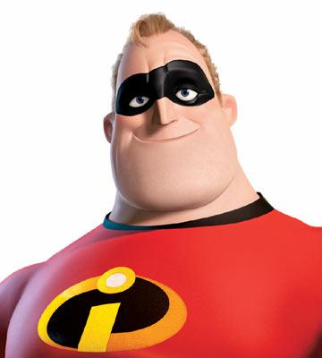 Mr. Incredible ( Craig T. Nelson ) in Disney and Pixar's The Incredibles